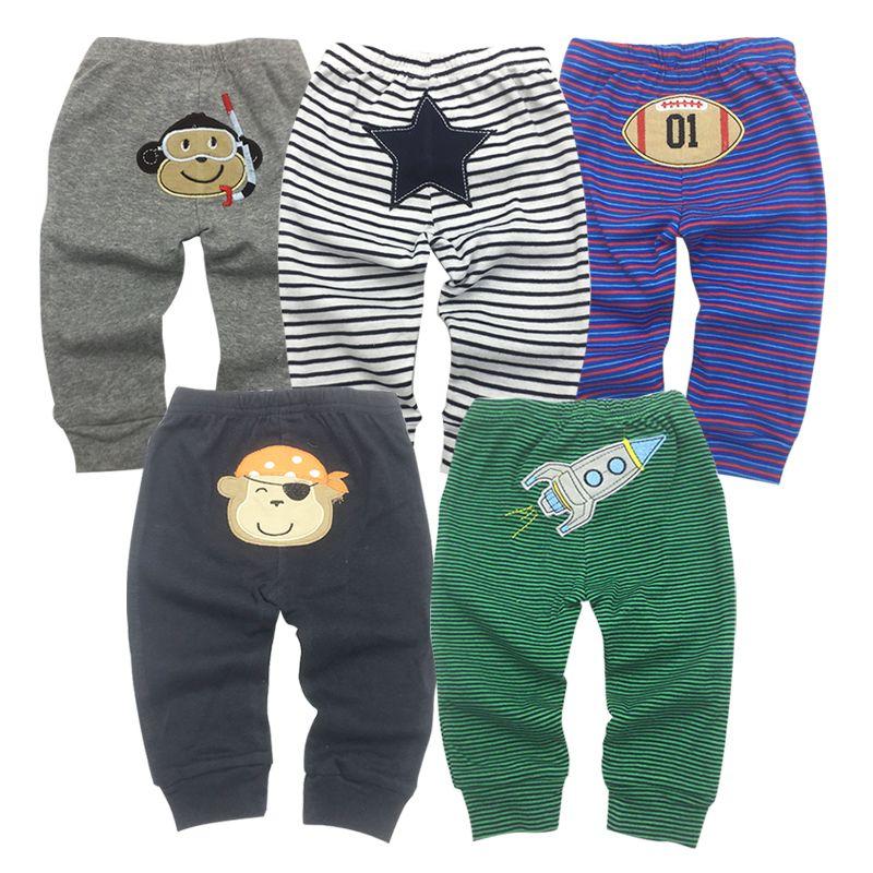 Overalls 2018 Neue Frühling Herbst Lässige Baby Jungen Mädchen Cartoon Bib Hosen Säugling Cute Bear Punkte Lange Hosen Kinder Hosen Jean Hosen