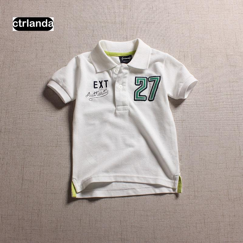 fdf5db788 2019 Children Boys Polo Shirts Soft Cotton Embroidery Baby Boys Short  Sleeve Polo Shirts Kids Brand Polo Tops Shirts Children Clothes From  Sport_xgj, ...