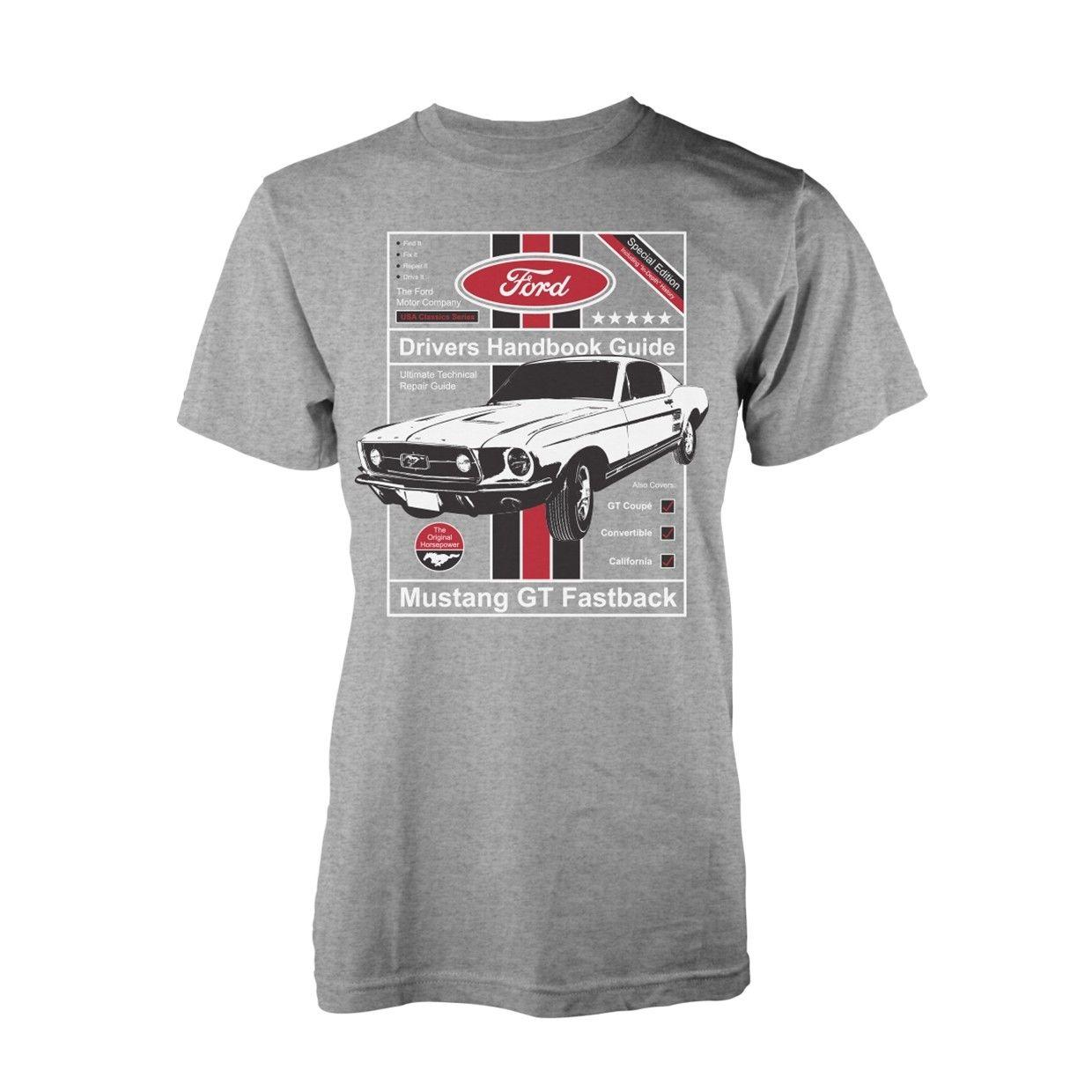 89fd3a65 Ford 1965 Mustang Muscle Car Manual T Shirt Officiel Hommes Patriotic T  Shirts Funny Tshirt From Teestotal, $11.01| DHgate.Com