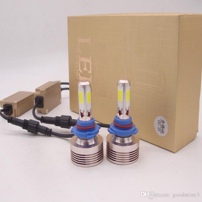 600W 120000LM CREE LED Headlight Kit 9005 9006 9007 H4 H7 H11 H1 High Beam  6000K White Light Bulbs