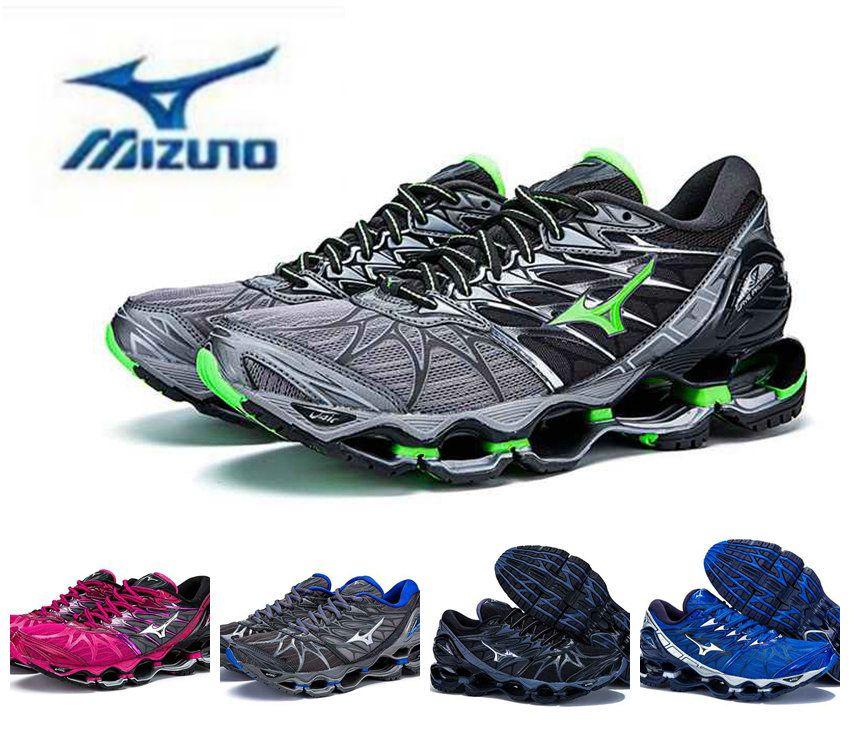 83d284917b Compre 2018 Chegar Autêntico MIZUNO WAVE PROPHECY 7 Homens Designer De  Esporte Tênis De Corrida Sneakers Mizunos 7 S Mens Casual Formadores  Tamanho 40 45 De ...