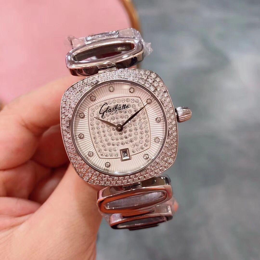dcd192d8d22 ... Selling Fashion Glashutte Women High End Luxury Switzerland Quartz  Watch Top Brand Relogies For Women Relojes Best Gift 280 02 Expensive  Watches Watches ...