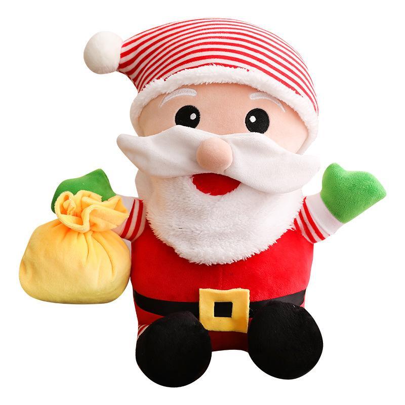 Cute Santa Claus Plush Toys Stuffed Toys Birthday Christmas Gifts
