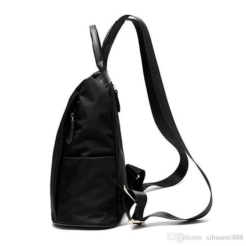 2018 de la moda de nylon simple nuevos hombres de la moda 's bolsa de hombro 6906