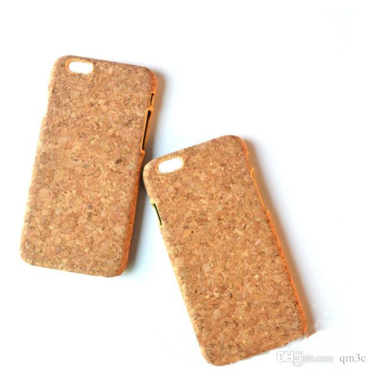 China Factory Low Price Cork Case Wood Phone Case For iphone X 10 7 8 6S 6 Plus Hot sale Style Cell phone Cover Wood Case Cork For Iphone