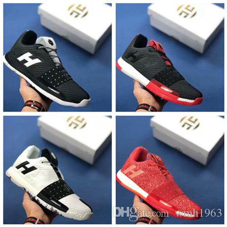 1ff63d478493 2018 James Harden Vol. 3 Basketball Shoes Mens Harden 3 Gold Championship  MVP Finals Trainers Designer Sneakers Running Shoes Size 40 46 Sneakers  Sale ...
