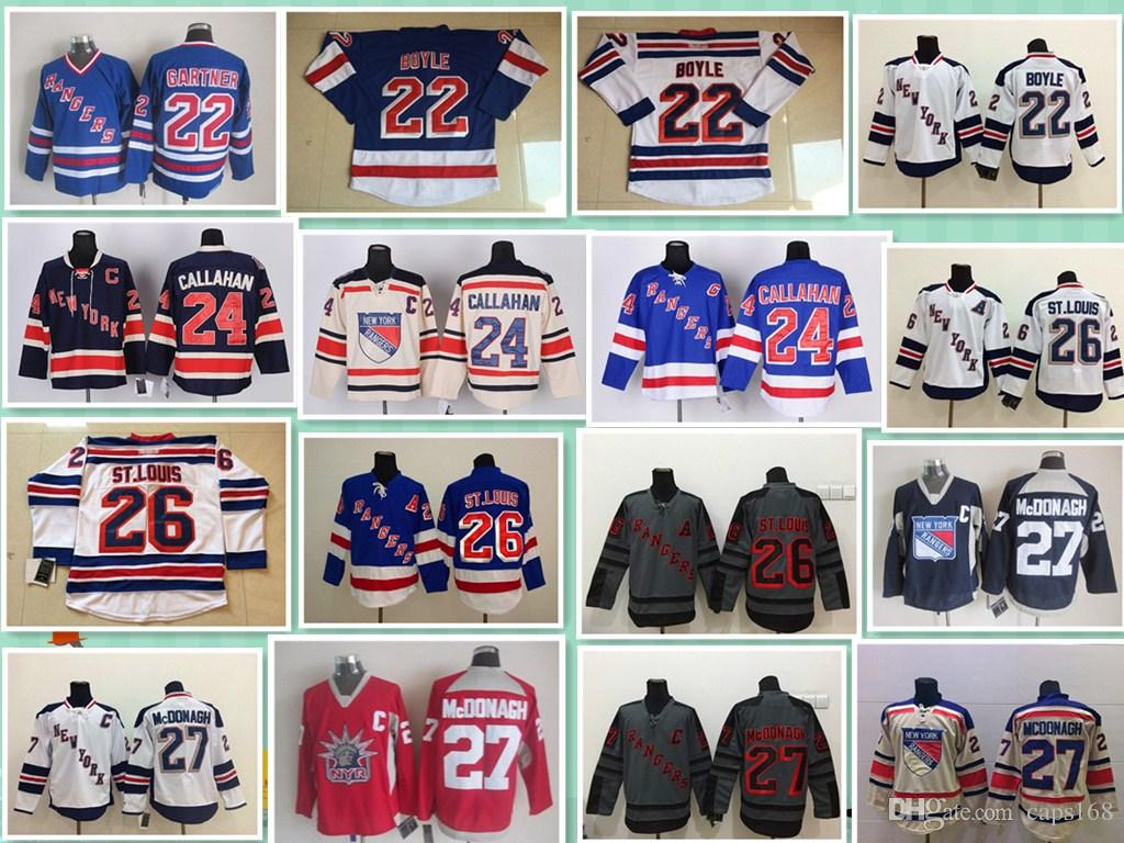 2018 Winter Classic Ad New York Rangers 22 Boyler 24 Callahan 26 Joe Kocur  27 Ryan Mcdonagh Kreider Rick Nash Shattenkirk Hockey Jerseys From Caps168 083295fe0