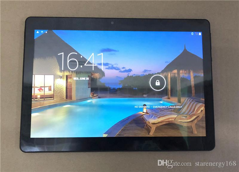 """168 DHL 2020 High quality 10 inch MTK6580 IPS capacitive touch screen dual sim 3G tablet phone pc 10"""" android 7.1 Octa Core 4GB 64GB G-10PB"""