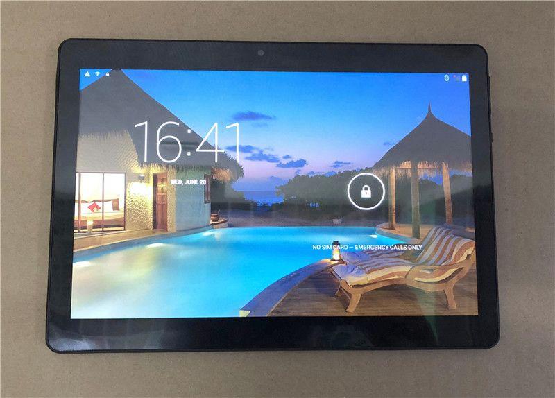E Qualität 10 Zoll MTK6572 MTK6582 IPS kapazitiver Touchscreen Doppelsim 3G-Tablettentelefon-PC 10