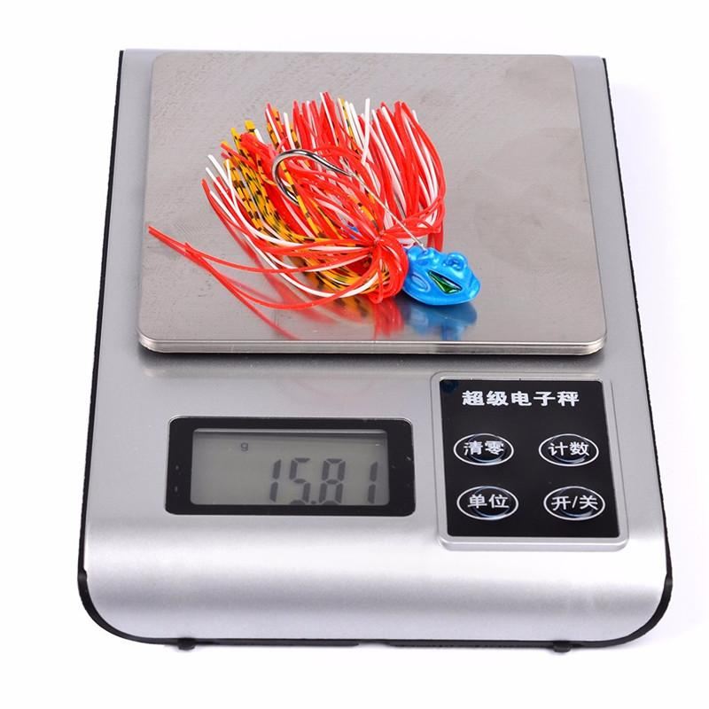 Whiskers Squid Bass Jigs Spinner Fishing bait 8cm 13g Beard Tail 3D Realistic Fish Eyes Lure with Big Single Hook