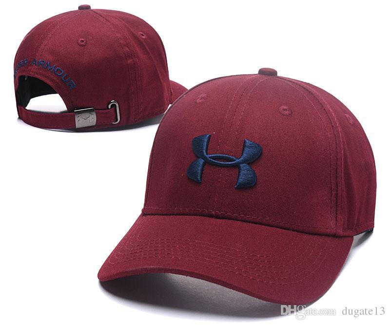 7c3aad908d4 Brand UA Snapback Baseball Ball Cap Under Hat Sports Hip Hop Caps  Camouflage Camo Bone Adjustable Hats Armor Men Women Casquette Street Caps  Custom Hat Caps ...