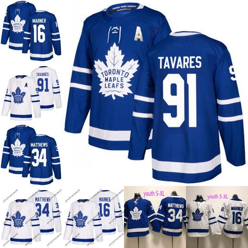 2019 New 91 John Tavares Toronto Maple Leafs Jersey 16 Mitch Marner 34  Auston Matthews Mens Womens Youth Kids Hockey Jerseys Lady Wholesale UK  2019 From ... 75928966d2