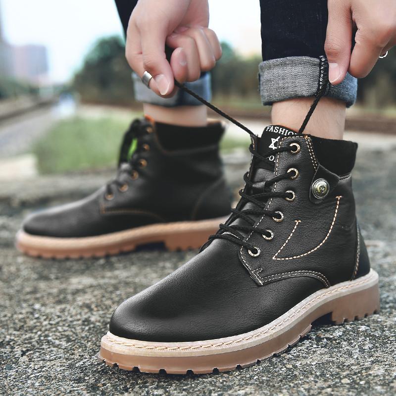 Zapatos Nuevo 2018 Martin Boot Invierno Otoño Compre De Hombre qZ5IU