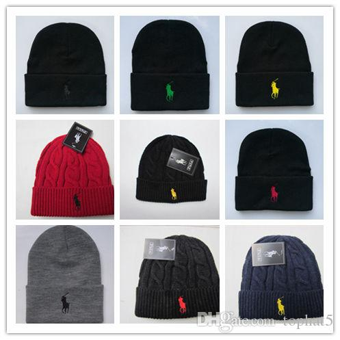 High Quality Winter Fashion Men Beanie Women Knitted Hat Casual Sports Cap  Keep Warm Ski Gorro Top Quality Classical Polo Skull Caps Knit Hat Hats And  Caps ... db4c814905f