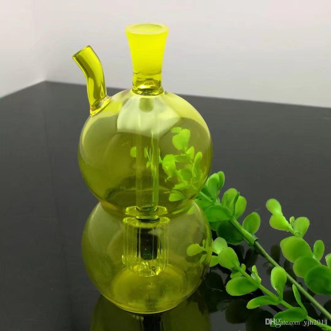 Цвет воды стекло нюхательный табак бутылка тыква Оптовая стеклянные бонги масляная горелка стеклянные трубы водопроводные трубы нефтяные вышки курение