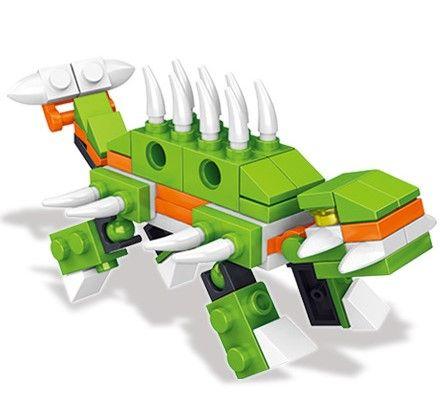 Jurassic Park Minifigures Dinosaur regalo a sorpresa in uova di dinosauro Mini figure Building Blocks Set giocattolo bambini Mattoni