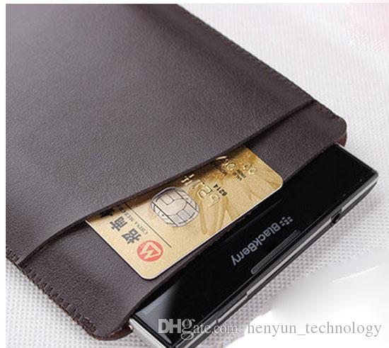 Leather Case for Blackberry Q30 Passport Case Cell Phone Cover Sleeve Pouch for Blackberry Q30