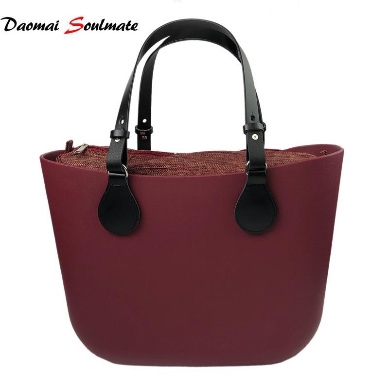 e9293a78f Waterproof EVA Body Beach Large Capacity Tote Bag Big Ladies Handbag Bags O  Bag Obag Style Silicon Handbags Shoulder Bags For Women Bags For Women From  ...