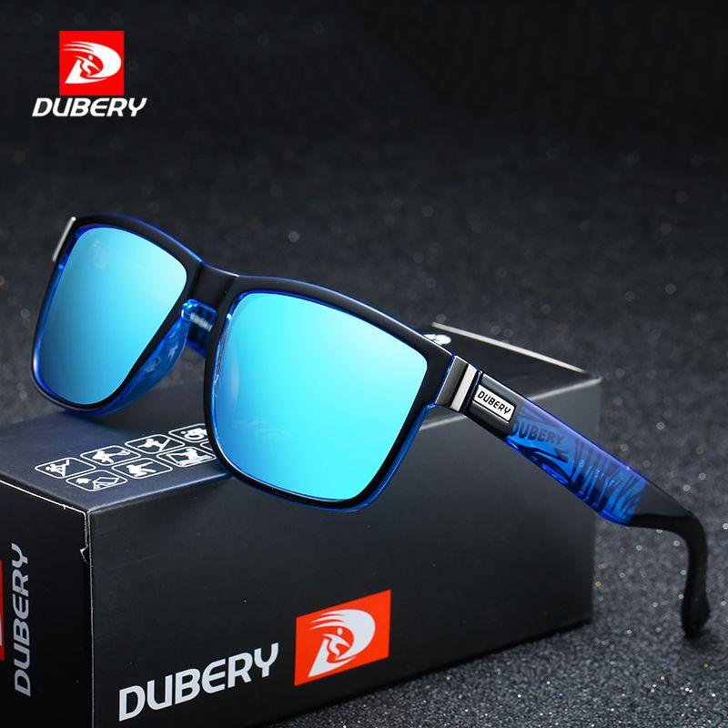 bb770a9df1 DUBERY Polarized Sunglasses Men s Aviation Driver Shades Male Sun Glasses  For Men Original 2018 Luxury Brand Designer Oculos 518 Black Sunglasses  Cycling ...