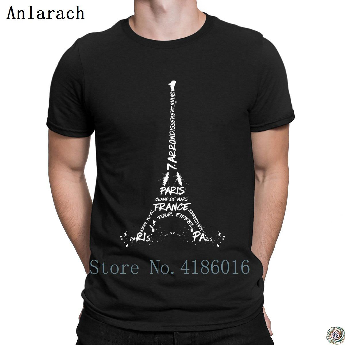 Designer Eiffel Art Digital Torre T Graphic Shirt Acquista Costume MpSVqUzG