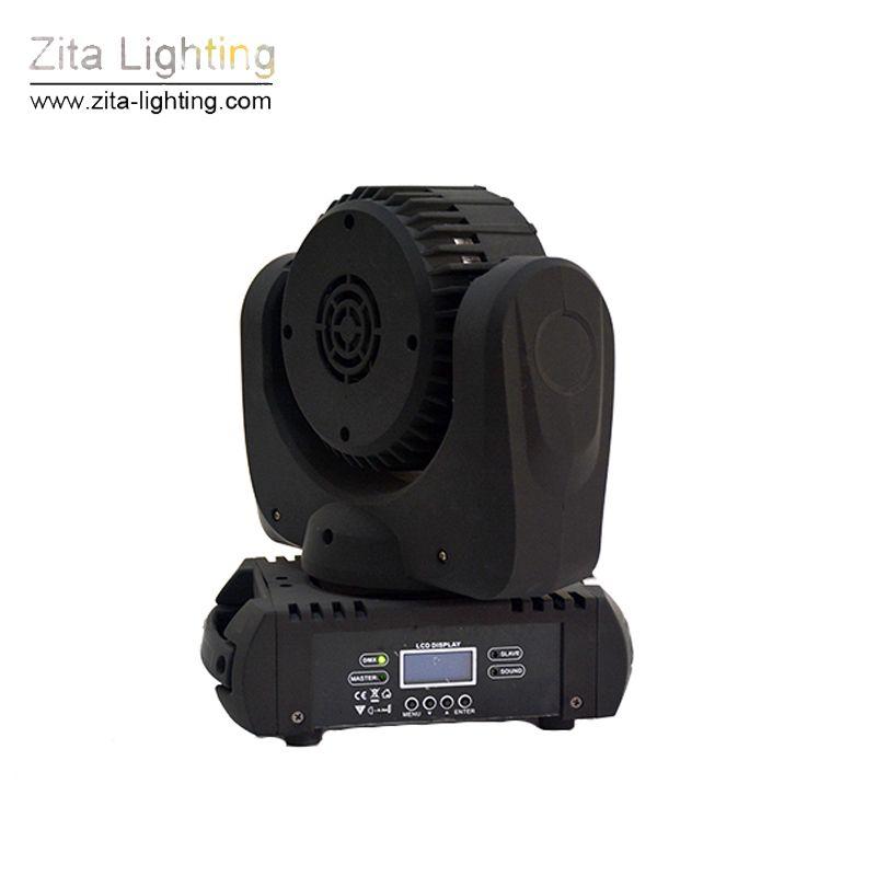 Zita Lighting 36X3W LED Moving Head Lights Mini Moving Beam Stage Lighting Rotating Wash RGBW DMX 512 DJ Disco Party Celebrate Light Effect