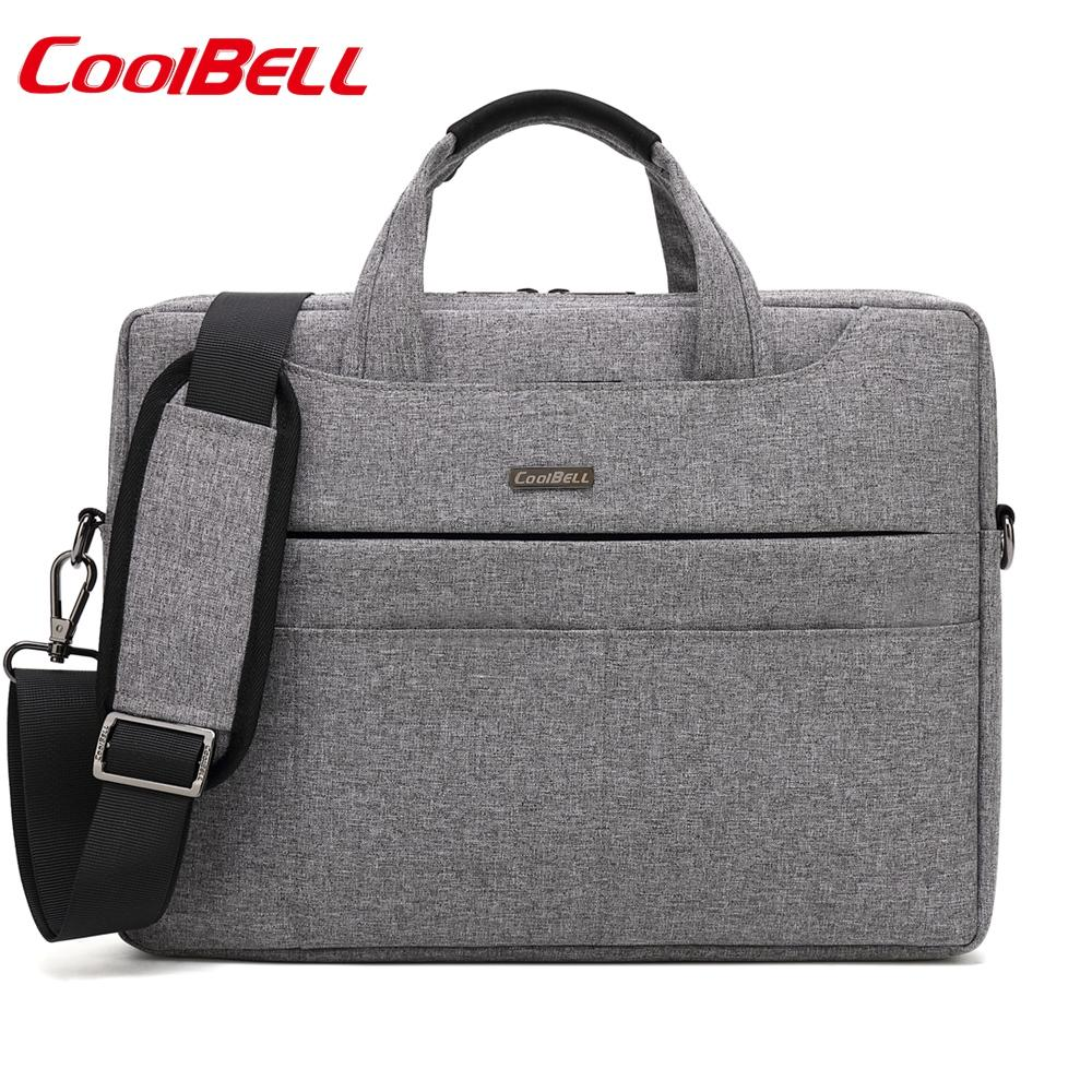 Waterproof Nylon 13 14 15 Inch Thin Laptop Shoulder Bag Man Business ... bf785abcd9f67