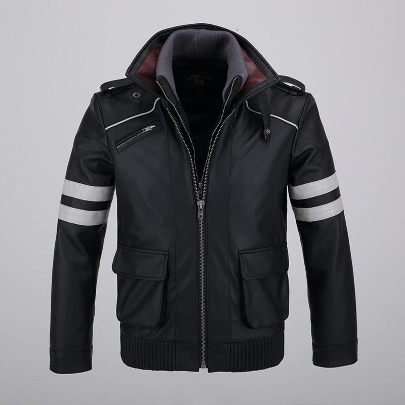 Well-Educated Jacket Mens New Men Zipper Windbreaker Jackets Overcoat Male Long Sleeve Splice Hip Hop Jackets Coats Brand Streetwear Carefully Selected Materials Men's Clothing Jackets & Coats