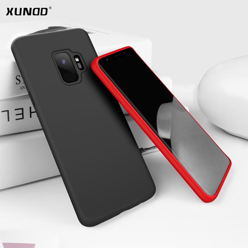 quality design ea25f 689bb For samsung galaxy s9 s9 plus phone case Xundd Liquid Silicone Stronger  Anti-knock back cover for galaxy s9 s9 case shell