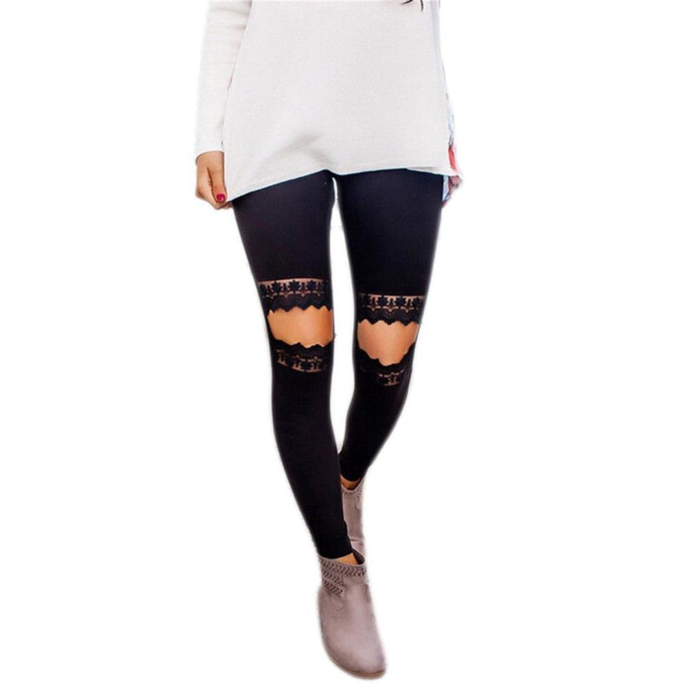 Compre Pantalones De Yoga Diseño Encantador Mujeres Ahueca Hacia ...