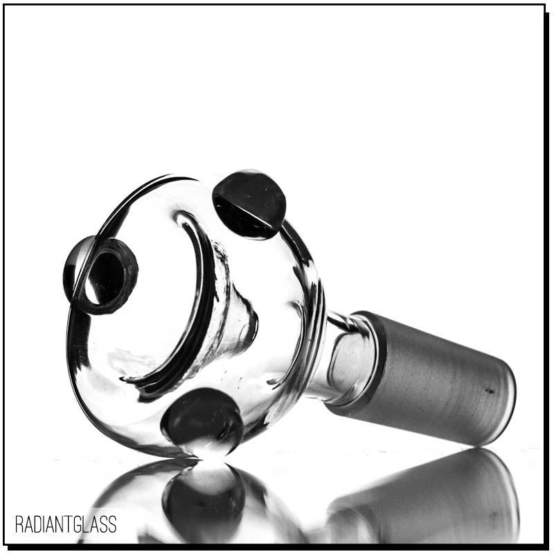Ciotole di vetro a buon mercato all'ingrosso con perle di vetro usate dimensioni 14.5mm 18.8mm dimensioni comuni spedizione gratuita