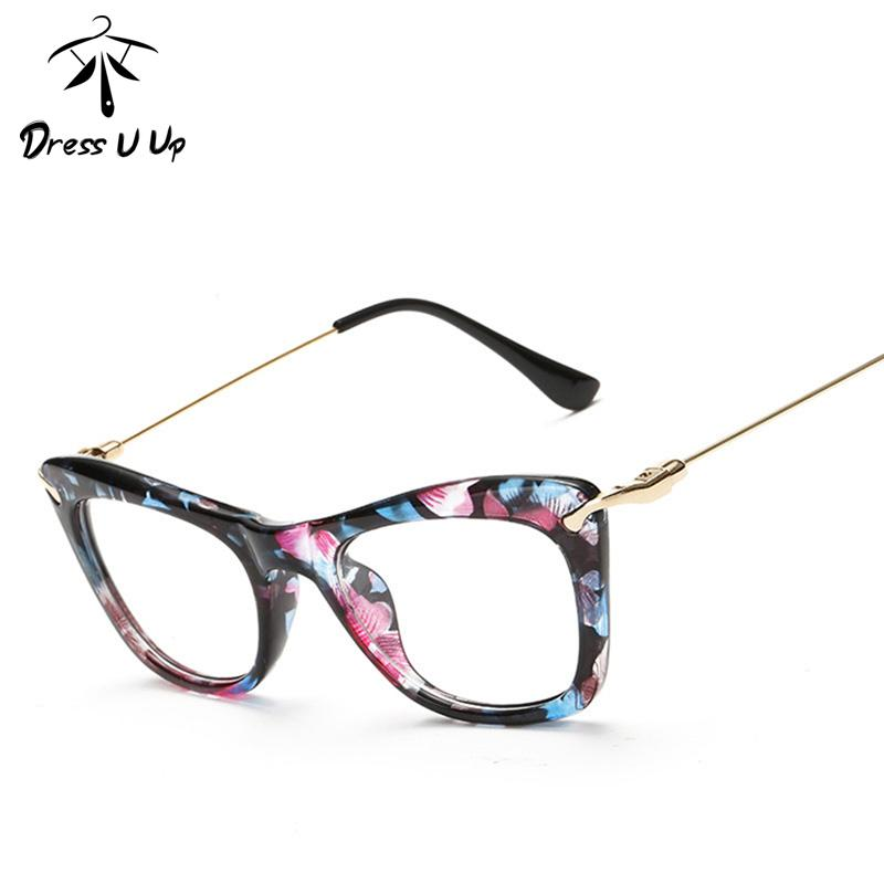 6691ef4c23 2019 DRESSUUP Fashionable Cat Eye Eyeglasses Frame Women Sexy Floral  Reading Glasses Frame Oculos De Grau Eyewear From Fashionable16