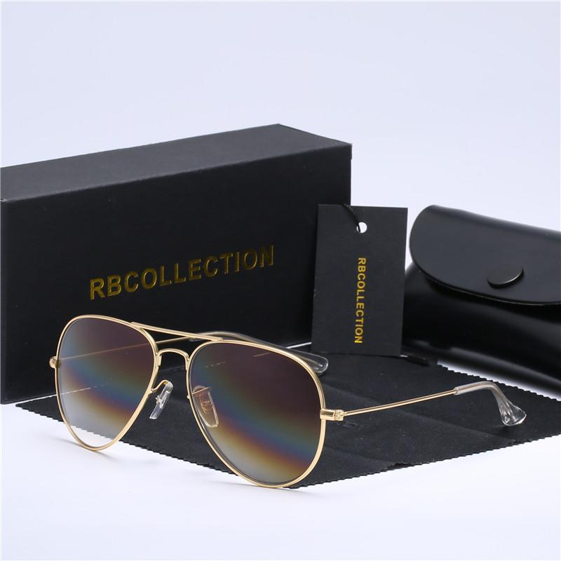 e05e33a5a78 2018 Top Quality G15 Glass Lens Designer Brand Sunglasses Women Men ...