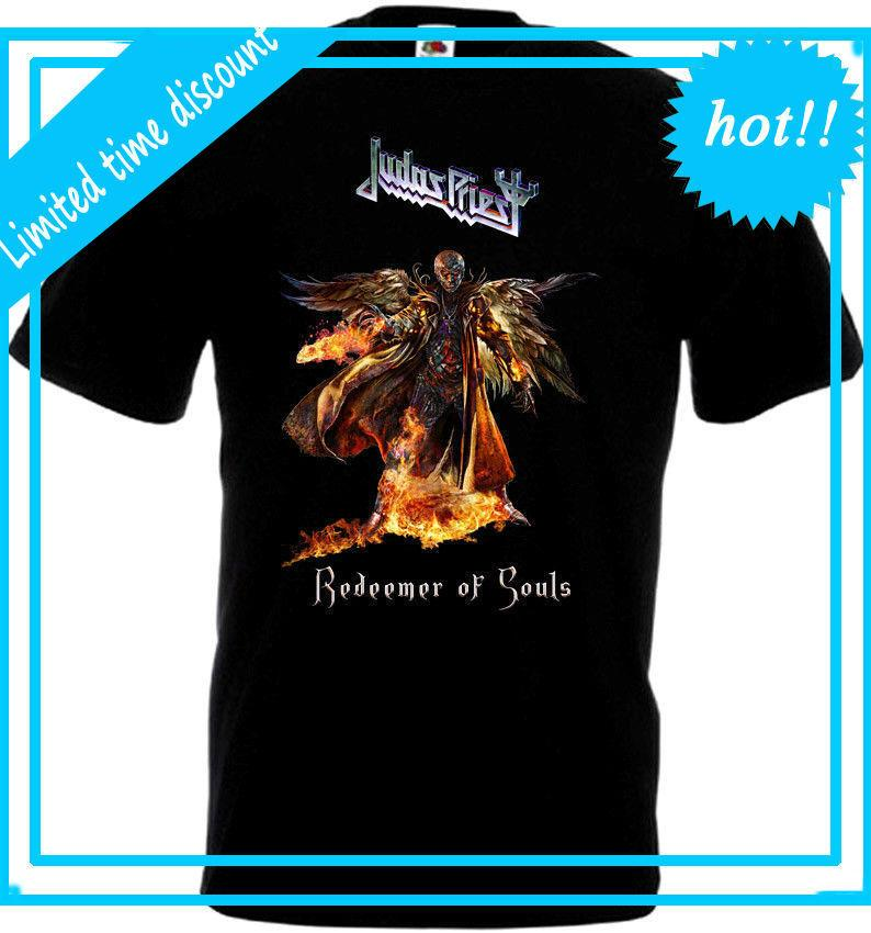 Judas Priest Redeemer Of SoulsT Shirt Black Poster All Sizes S...5XL Men S  Shirts Men Clothes Novelty Cool T Shirts Vintage T Shirts Sale From Teesir 84f6c19e3