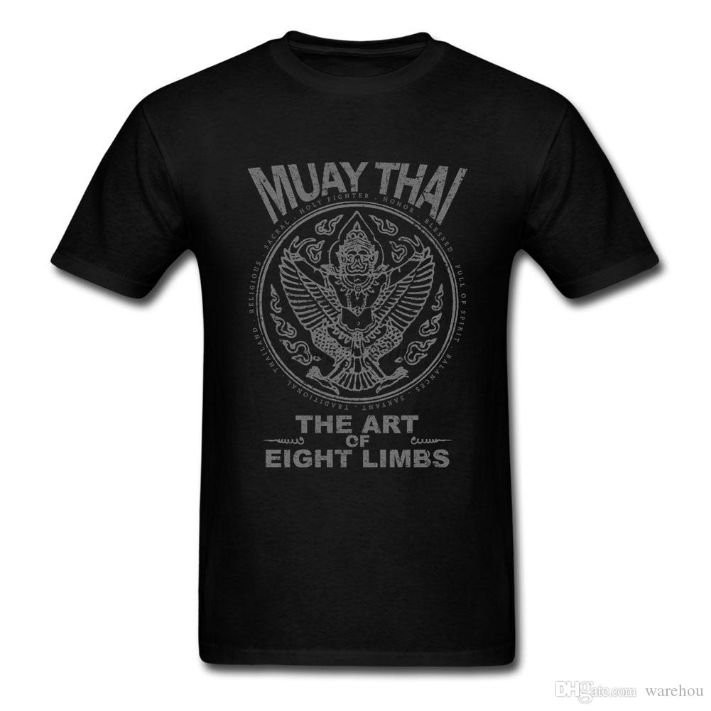 7f312342 Garuda Muay Thai T Shirt Short Sleeve Clothes 2017 New Homme Guy 3XL O Neck  Cotton Funny T Shirts Order Tee Shirts T Shirt With Design From Warehou, ...