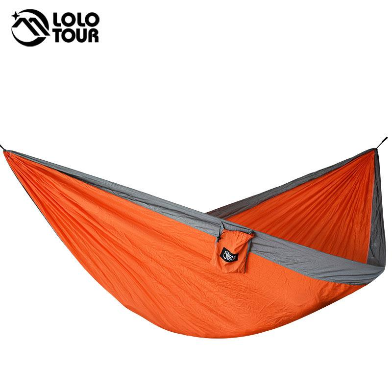 Hangmat 300 Cm.2019 Durable 2 Persons Nylon Hammock 210t Parachute Hangmat Sleep