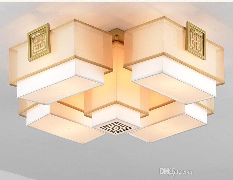 Plafoniera Quadrata E27 : Acquista cina lampada da soffitto semplice plafoniera quadrata