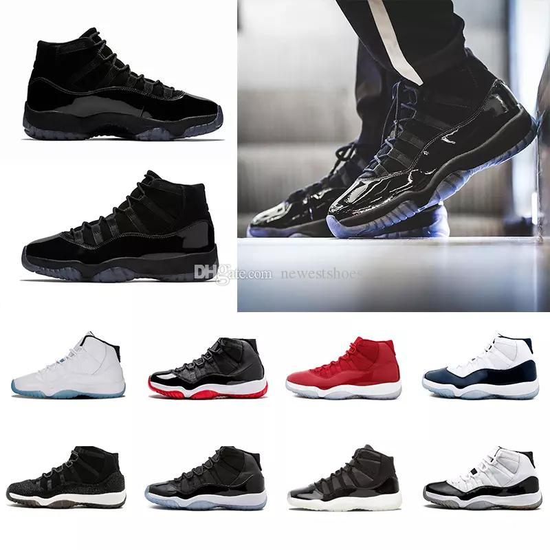 f24b5e47e6c95e Newest Cap And Gown 11 Prom Night 11s XI Gym Red Bred Concord PRM Heiress  Men Women Basketball Shoes Midnight Navy Sports Sneakers Online Shoes Cheap  Shoes ...