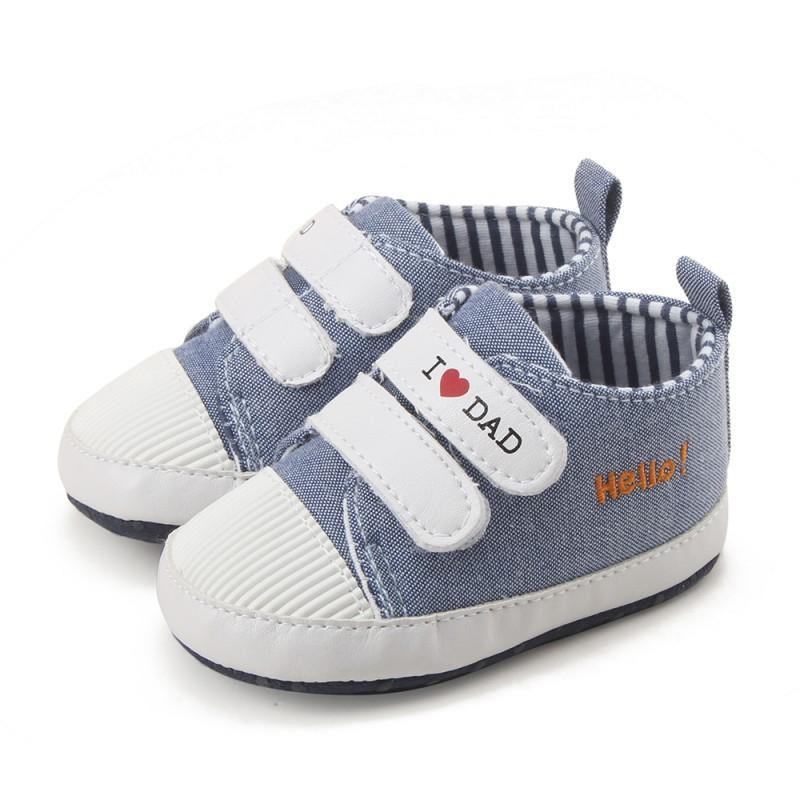 2017 New Baby Booties Breathable Canvas First Walkers Boys Girls Baby Comfortable Sneakers Toddler Shoes