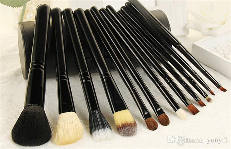 Fasion Makeup Brush Set+Cup Holder Professional Makeup Brushes Set Cosmetic Brushes With Cylinder Cup Holder 0202024