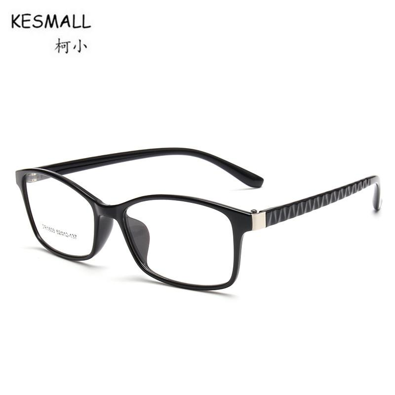 cc77cab1db1 KESMALL 2018 New TR90 Glasses Frame Men Women Ultra-light Computer Eyeglasses  Frames Clear Lens Eyewear Occhiali Miopia XN416 Occhiali Miopia Frames Men  ...