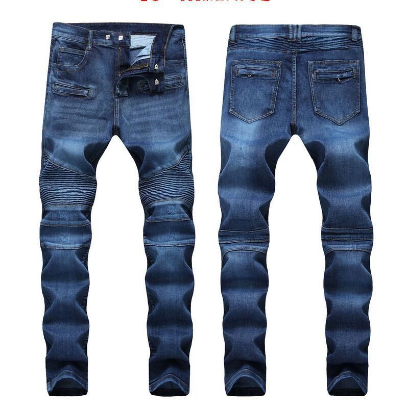 6afe7bed3a034 Compre Pantalones Vaqueros Desgastados Desgastados Desgastados Diseñador De  Moda Pantalones Cortos Para Hombre Pantalones Cortos Motocicleta Delgada  Moto ...