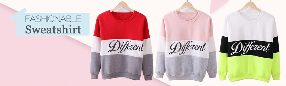 ArtSu Autumn Winter Women Sweater Printed Letters Different Printed Sweaters Casual Long Sleeve Tracksuit Sudaderas EPHO80027