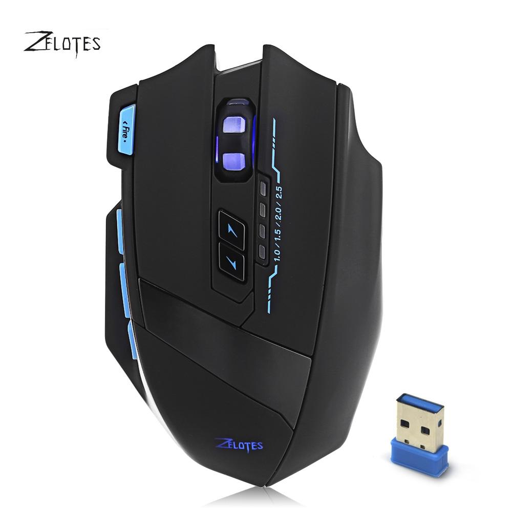 5823c61b99c 2019 Original 9 Keys Optical Mouse Wireless 2.4GHz 2500DPI Adjustable Gamer  Mice With USB 3.0 Receiver USB Cable For Laptop Desktop From Therese, ...