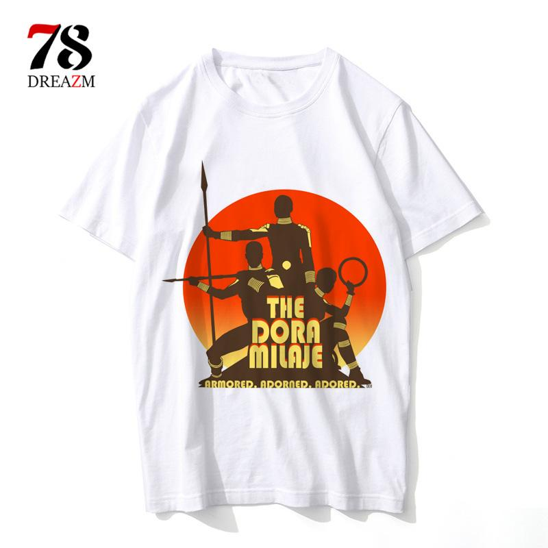 Black Panther Wakanda T Shirt Men 2018 Moive Cartoon Cool Funny White Tshirt  Print T Shirt Men Tees Print T Shirt Slogan T Shirts From Yanmai e817954ba