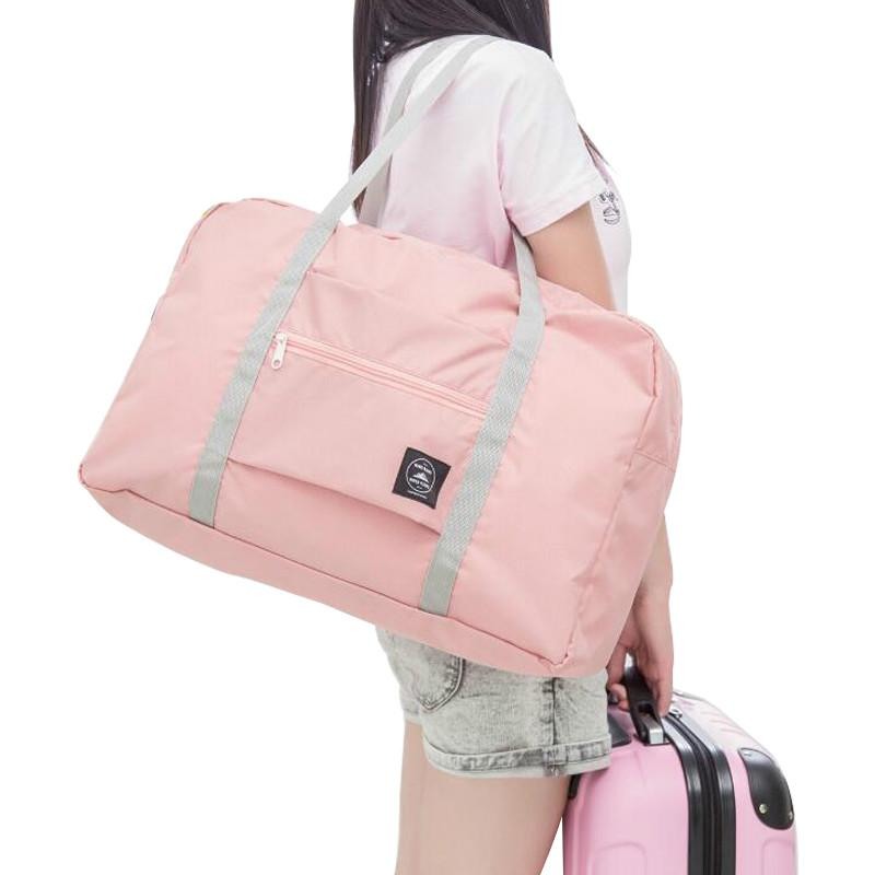 481c94326127 2019 Hot Sports Gym Bags Portable Female Folding Storage Outdoor Training  Travel Handbag Large Capacity Women Fitness Yoga Duffel Bag From  Water sports
