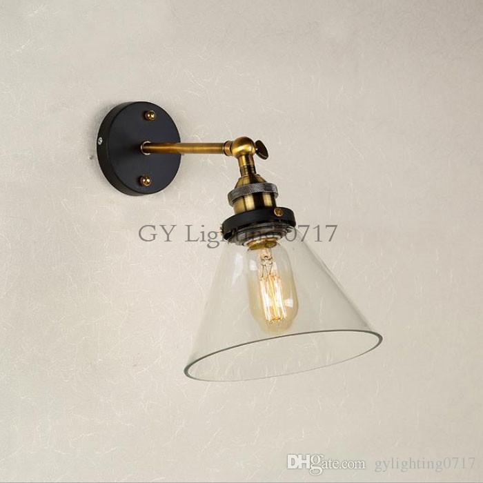 Vintage traditional industrial wall lights glass shade loft coffee vintage traditional industrial wall lights glass shade loft coffee bar wall lamp glass iron industrial country warehouse lamp wall light vintage wall lamp aloadofball Images