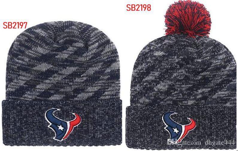 414ef70c52f 2019 Winter Hat Texans Beanie Stripes Sideline Cold Weather Graphite Sport Knit  Hat Knitted Wool Bonnet Warm Official Reverse Cap Beanie From Dhgate444