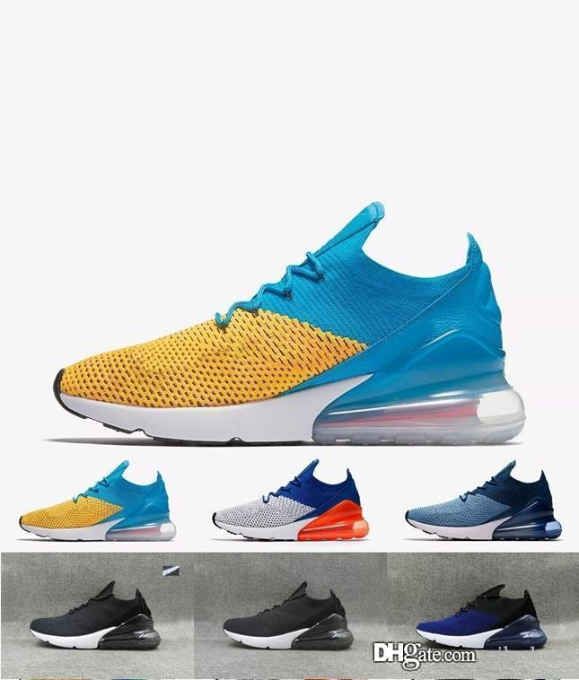 fba3466dfad7f6 2018 Air Sole Mens Vapormax 270 Kpu Running Shoes 270s Hot Punch Triple  Black White Oreo Teal Photo Blue Sports Sneakers 40 45 Work Shoes Sneakers  Shoes ...