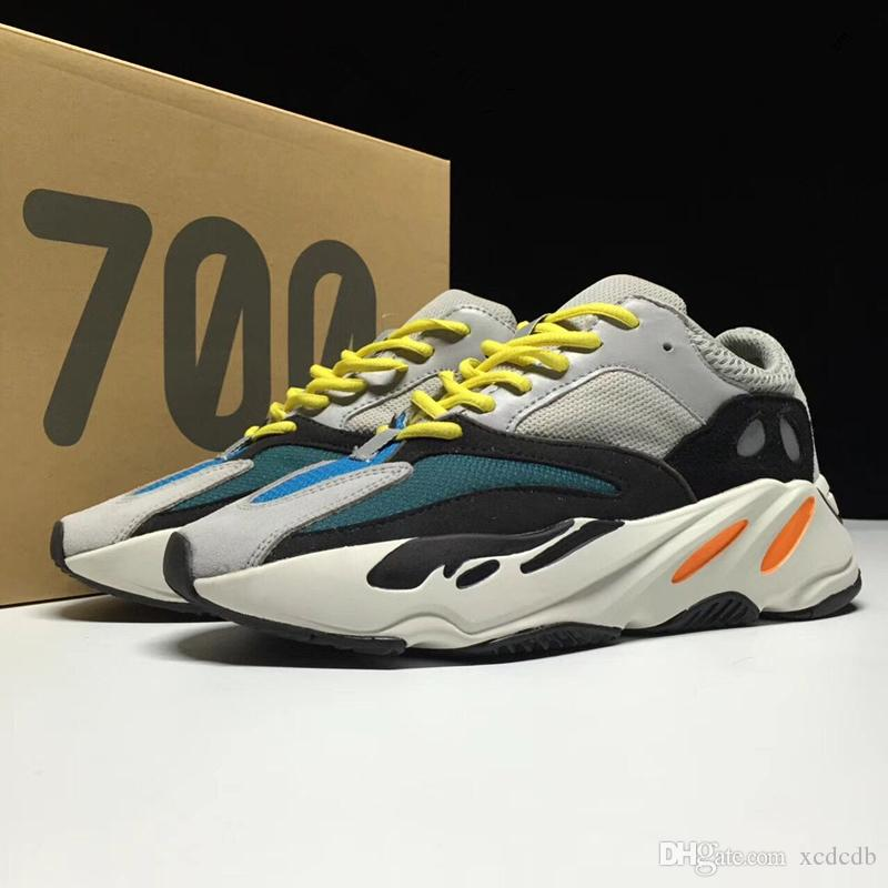 Shop for Adidas Yeezy 700 Wave Runner Solid Grey B75571 Black Friday Sale at netwhilesale.com