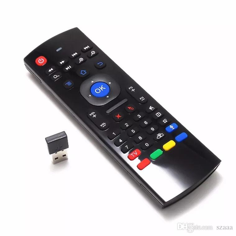 Mx3 wireless flying mouse keyboard 2 4G smart TV set-top box remote control  6-axis gyroscope